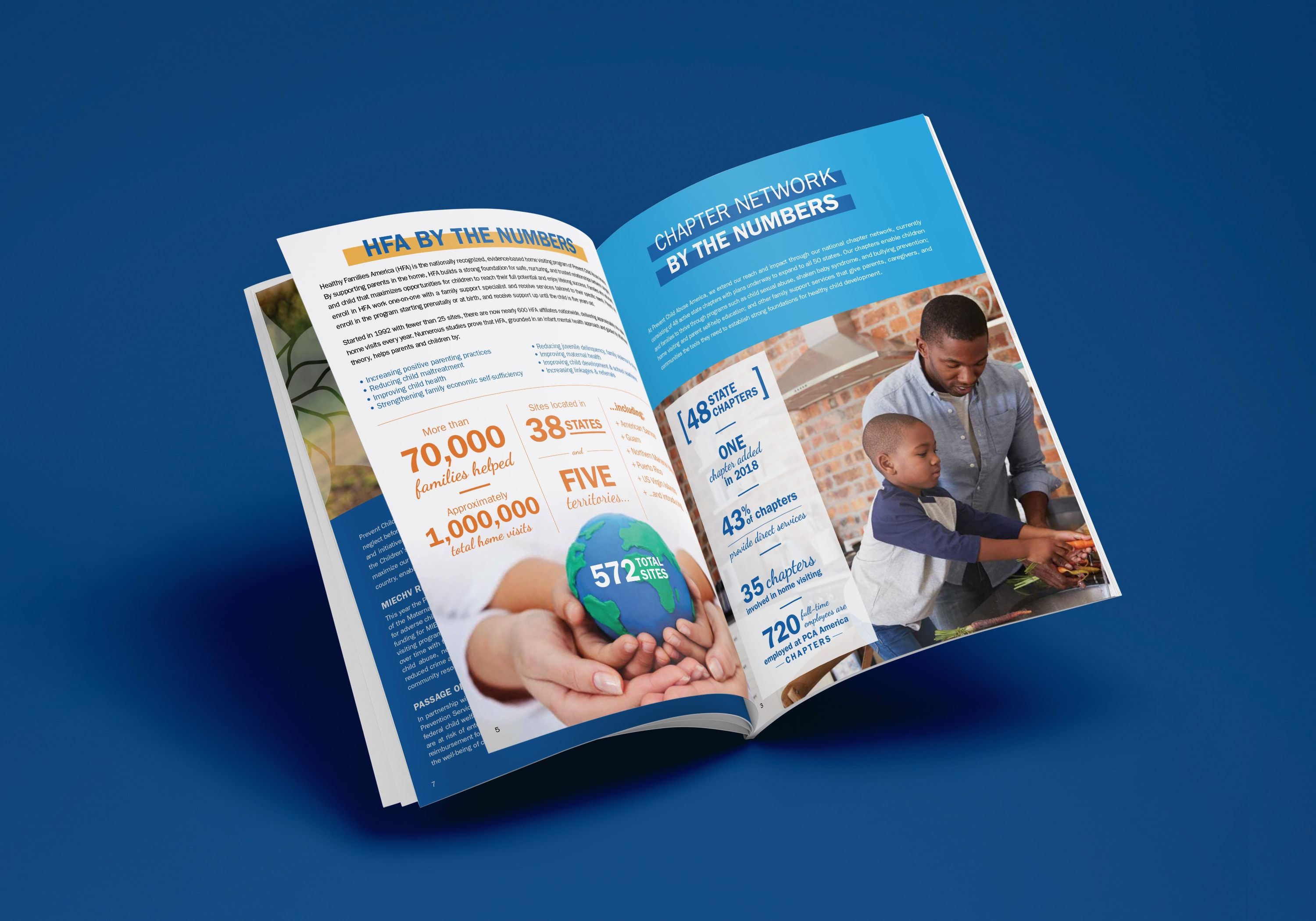 The Adventure Agency | Corporate Annual Report and Brochure Design Services