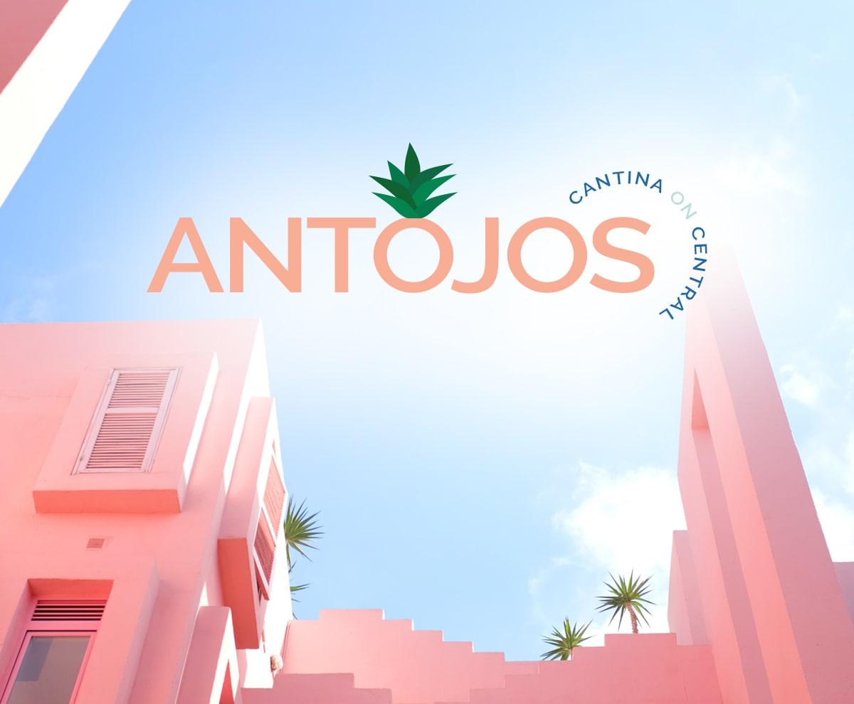Antojo Logo Design   The Adventure Agency