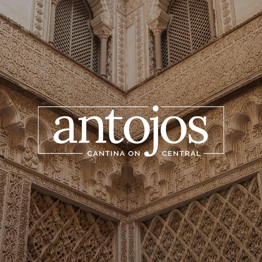 Antojos Cantina on Central Custom Logo Design