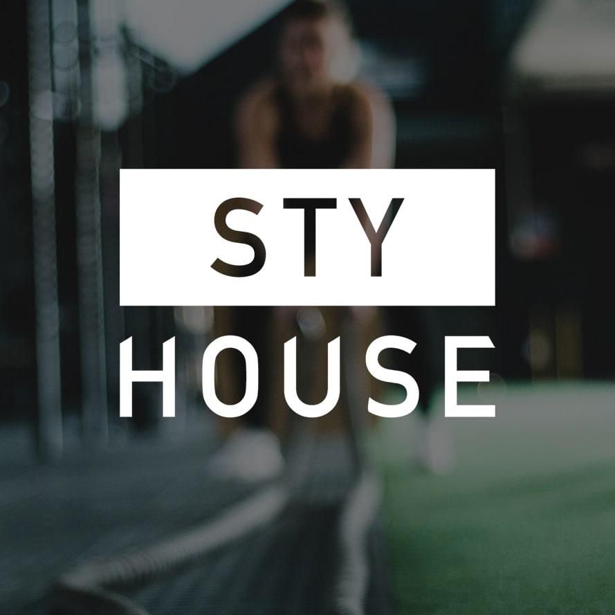 STY House Custom logo design
