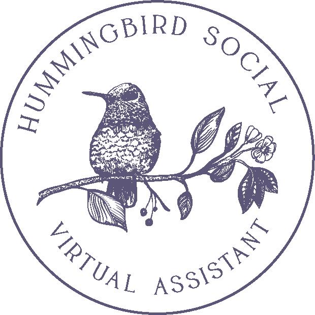 Hummingbird Social Brand and Logo 6