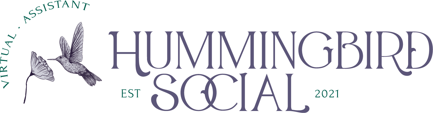 Hummingbird Social Brand and Logo 7