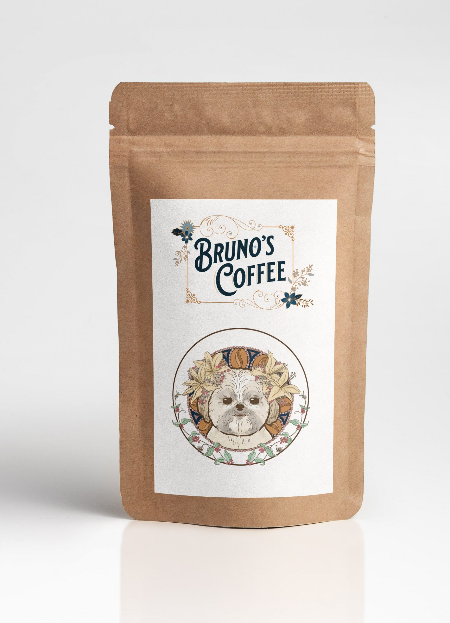 Bruno's Coffee Branding and Package Design