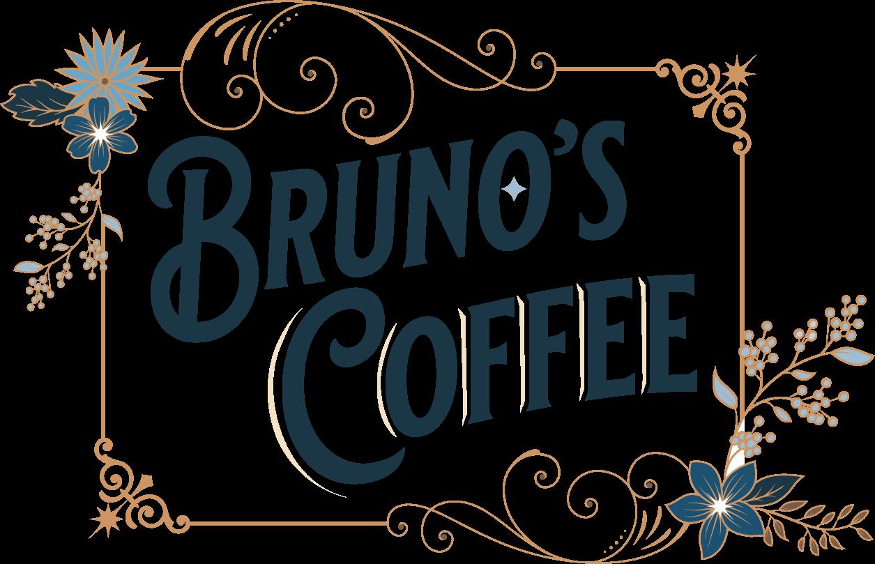 Bruno's Coffee Logo and Branding